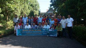 Tập huấn về Giáo dục môi trường cho các Vườn quốc gia và Khu bảo tồn thiên nhiên