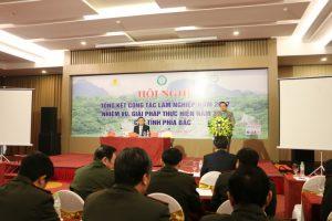 Hội nghị tổng kết công tác lâm nghiệp năm 2017 và nhiệm vụ, giải pháp thực hiện năm 2018 các tỉnh phía Bắc