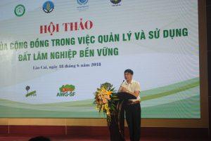 """Hội thảo: """"Vai trò của cộng đồng trong việc quản lý sử dụng đất lâm nghiệp bền vững"""""""