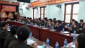 Kiểm lâm Thanh Hóa – Nghệ An, tổ chức Hội nghị giao ban phối hợp BVR, PCCCR vùng giáp ranh năm 2018